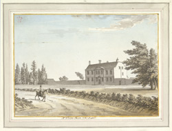Mr Worge's House, Near Battle